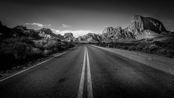 Big Bend Entrance Photography Art | Greg Woods Photography