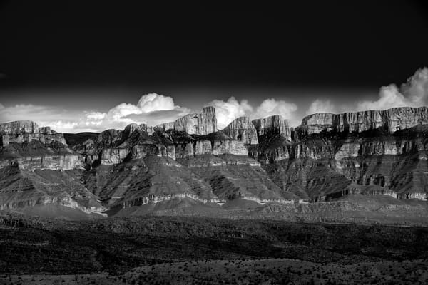 Mexico Ridge Clouds Photography Art | Greg Woods Photography