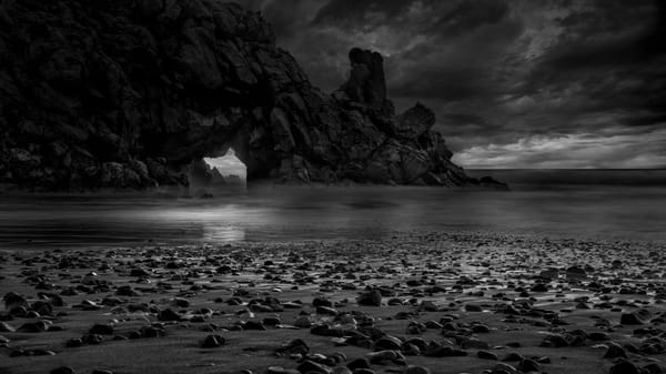 Morocco Coast Clouds Photography Art   Greg Woods Photography