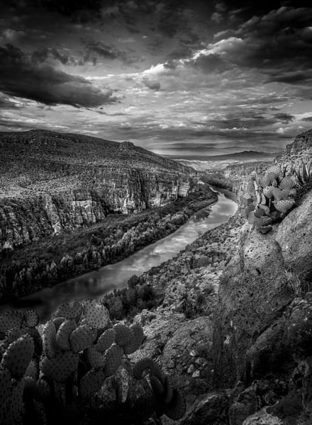 Rio Grande Vertical Photography Art | Greg Woods Photography