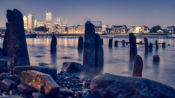 Wapping Blues Photography Art | Martin Geddes Photography