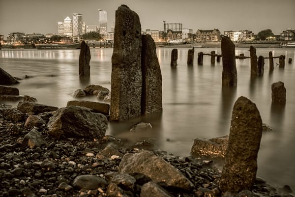 Wapping Low Tide Photography Art | Martin Geddes Photography