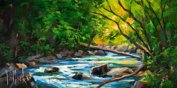 Great Smoky Mountains No. 7 - Emerald | Sarah Pollock Studio