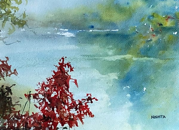 Fall's Glory Art | Nishitas Art