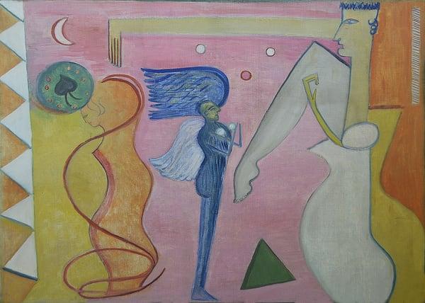 The Blue Angel Art   Art Design & Inspiration Gallery