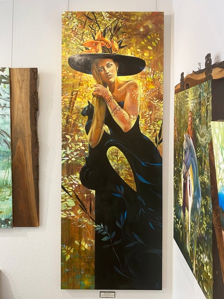 Mirage Of Life Original Art Art | Big Vision Art + Design