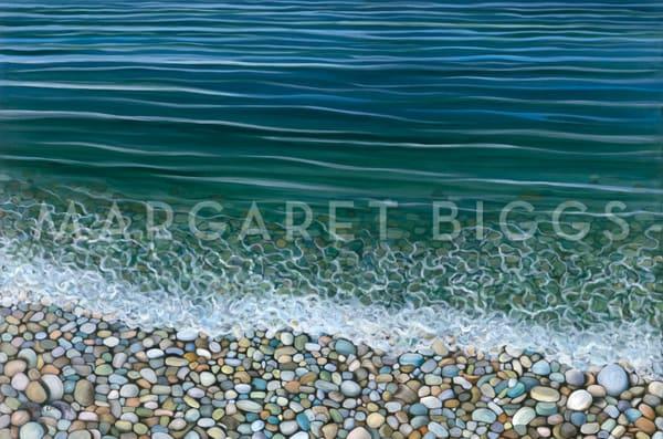 Schoolhouse Beach   Horizontal Art   Margaret Biggs Fine Art
