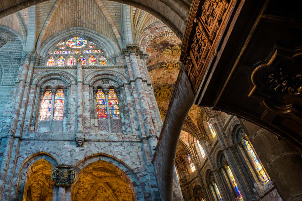 Intrnal Flying Buttress And Apse Avila Spain Cathedral Photography Art | Eric Hatch