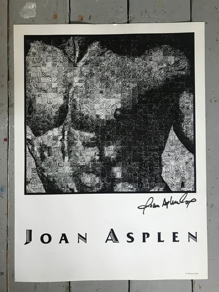 Black And White Male Torso Signed Poster Art | Joan Cox Art
