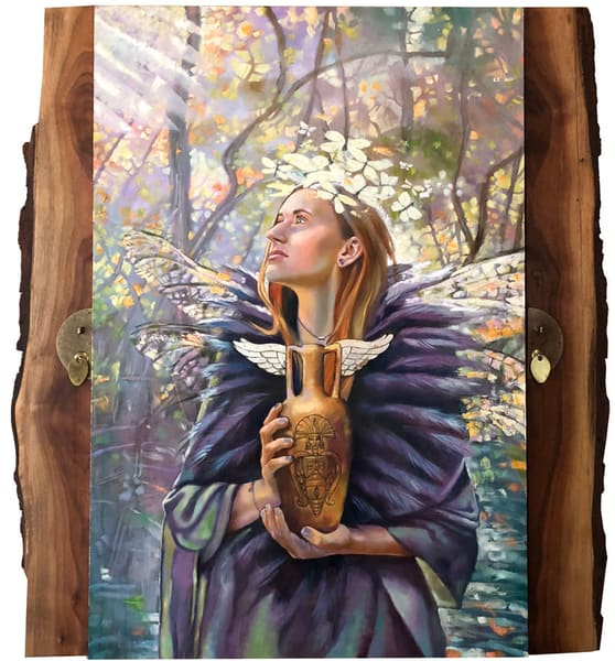 Ceremony For Seraphim Original Art Art | Big Vision Art + Design