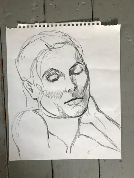 #4 Charcoal Figure Sketch Art | Joan Cox Art
