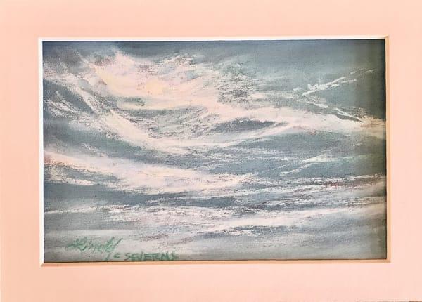 Lindy Cook Severns Art | Dragons' Tails, original pastel