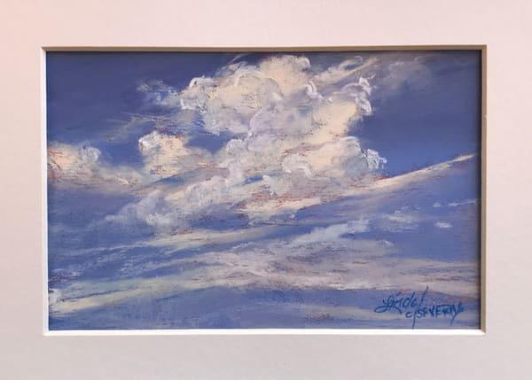 Lindy Cook Severns Art | Angel Wings, original pastel