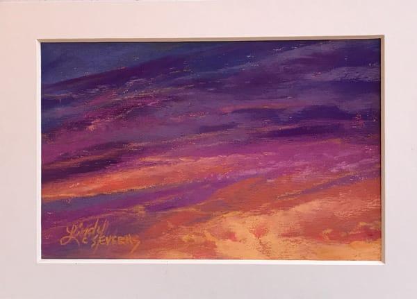 Lindy Cook Severns Art | In a Hummingbird's Wake, original pastel