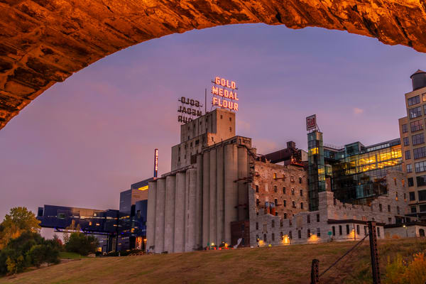 Mill City At Dusk Photography Art | William Drew Photography