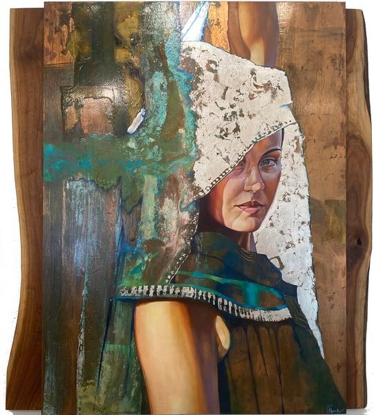 Mystery's Consort Original Art Art | Big Vision Art + Design