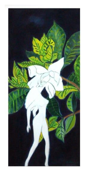 gardenia sensual smell enraptured fine-art-original jackie-robbins-studio