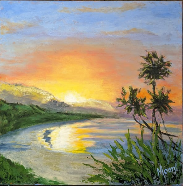 Tropical Bliss Art | Carol Moon Art