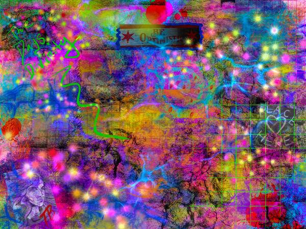 Prophetic Positivity Digital Art by Todd Breitling