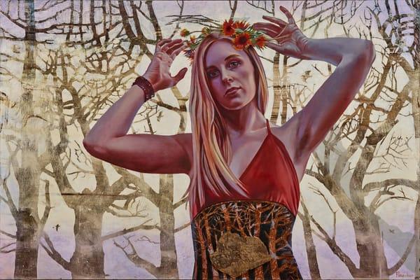 Violet Horizon Prints Art   Big Vision Art + Design
