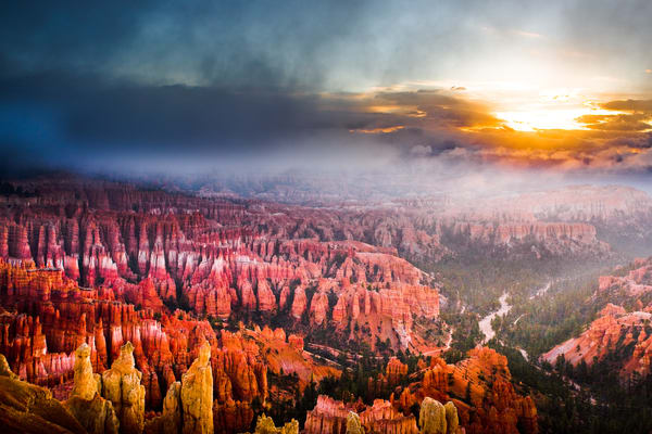 Majestic Bryce Morn Photography Art | Brokk Mowrey Photography