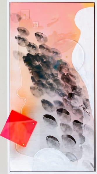 Smoke Signals #1 (Framed) Art | Makiko Harris Art