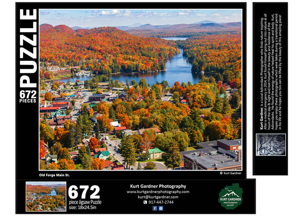 (Sold Out)Old Forge Main St Aerial | Kurt Gardner Photogarphy