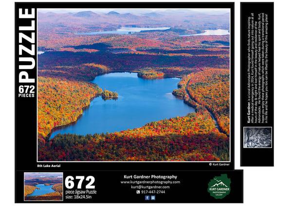 In Stock 8th Lake Aerial | Kurt Gardner Photogarphy