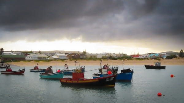 Struisbaai Harbor South Africa photography collection | Eugene L Brill