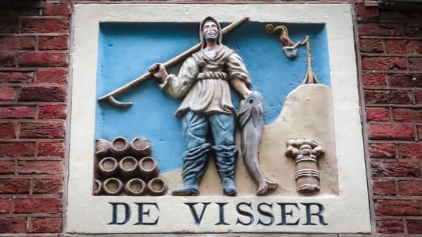 De Visser (The Fisherman) Amsterdam Photography Collection | Eugene L Brill