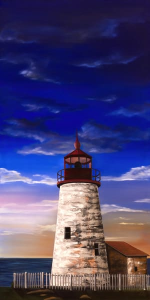 Evening Lighthouse 2