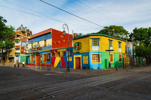 La Boca District, Buenos Aires, Argentina