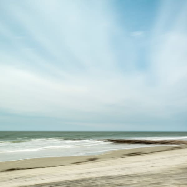 Seaside Horizon - Square
