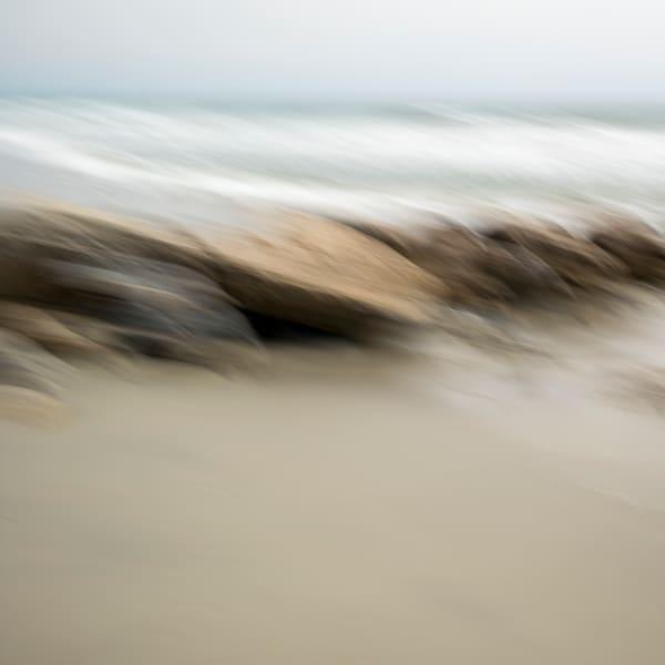 Seaside Rocks - Square