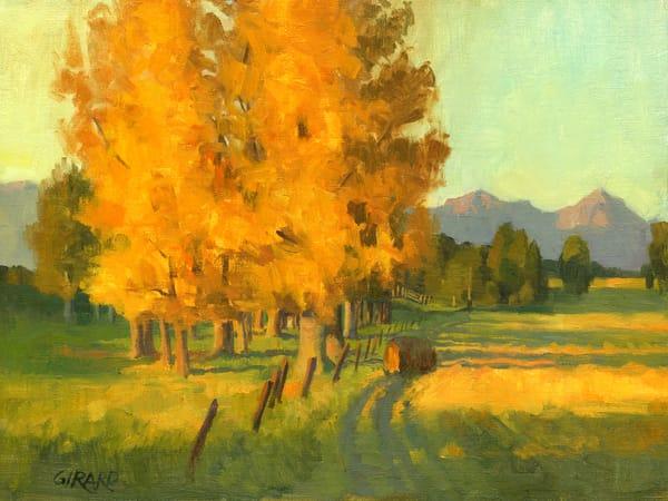 First Yellow Trees  Art | Studio Girard