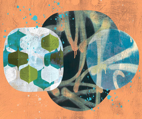 abstract mid century art, midcentury modern art, mid-century modern art, mid century abstract print