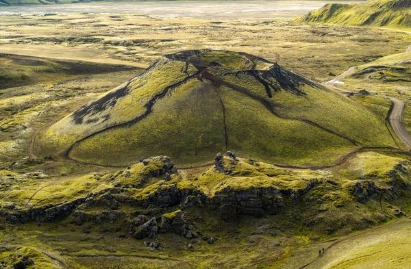 Frostastadavatn Moss  Volcano