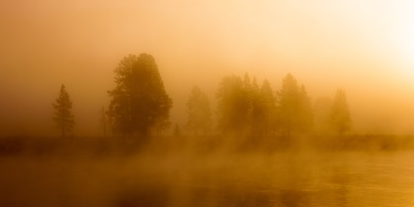 Fog At The River Bend Photography Art   Brokk Mowrey Photography
