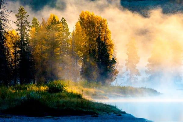 Misty Morning Photography Art   Brokk Mowrey Photography