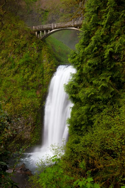 Multnomah Falls Photography Art | Brokk Mowrey Photography