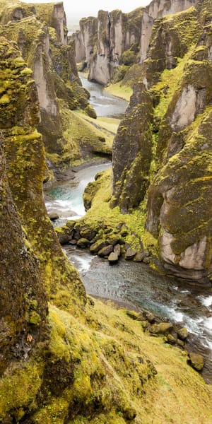 Iceland Canyon Photography Art | Brokk Mowrey Photography
