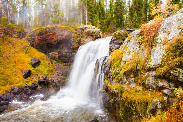 Moose Falls Photography Art | Brokk Mowrey Photography