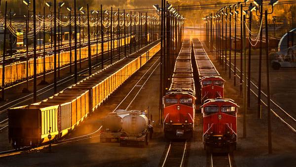 Running Parallel No 2 | Terrill Bodner Photographic Art