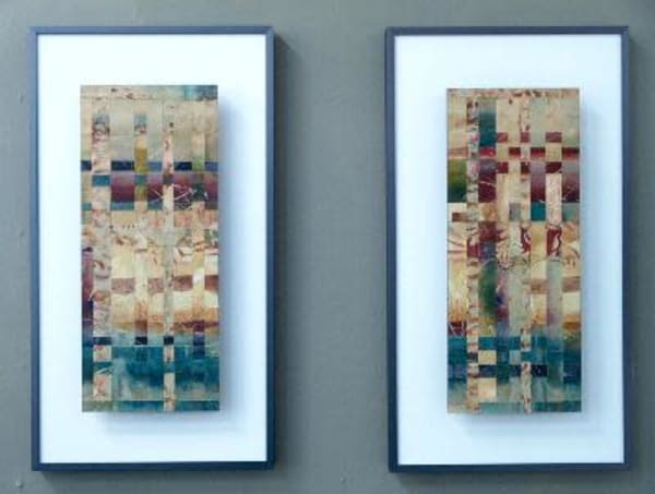 Primary Series 1,2  (Originals) Art | Laurie Fields Studio
