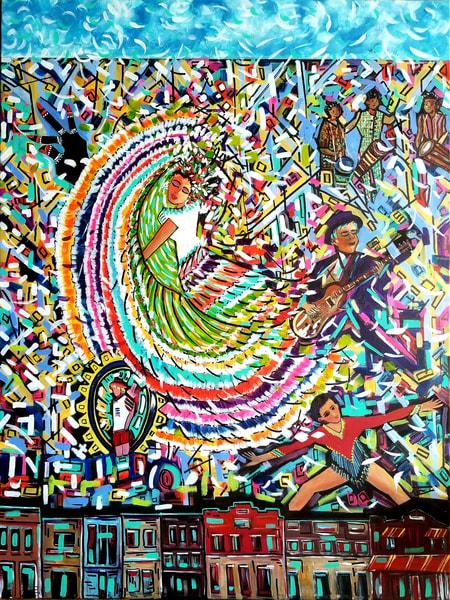 Hometown Proud Art   Janak Narayan Fine Art
