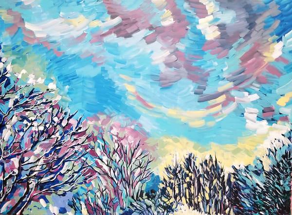 Winter Wonderland  Art | Janak Narayan Fine Art
