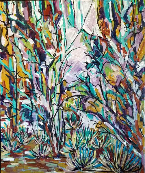 Amethyst Garden Art | Janak Narayan Fine Art