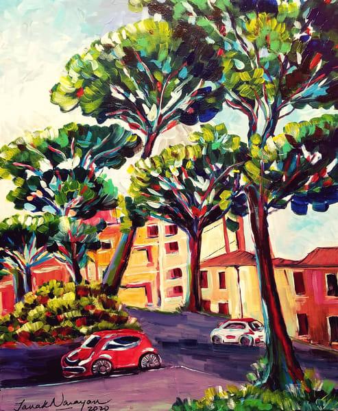 Strolling Through Italy  Art | Janak Narayan Fine Art