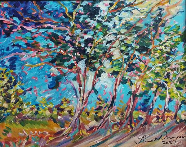 Swaying In The Breeze Art | Janak Narayan Fine Art