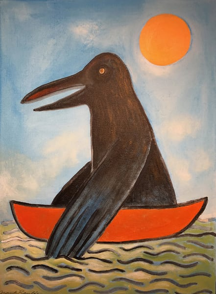 Crow Your Boat Art | Fountainhead Gallery